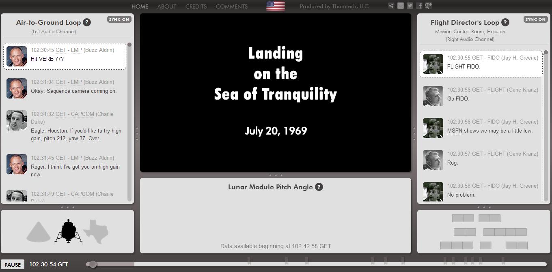 Apollo 11 Transcript of Conversation (page 2) - Pics about ...