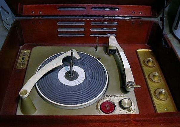 RCA Victor SHF-7 Record Player
